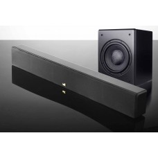 Sistem Audio 3.1 M&K Sound cu Soundbar + Amplificator Yamaha